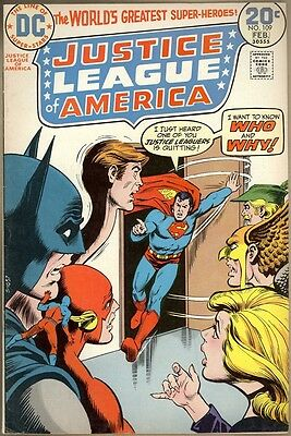 Justice League Of America #109 - FN+