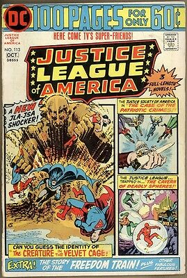 Justice League Of America #113 - VG