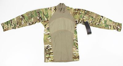 (NWT) US Army Issue MASSIF Multicam ACS Flame Resistant Combat Shirt - Large