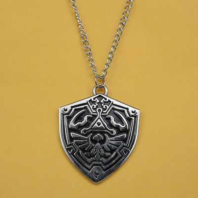 NEW The Legend Of Zelda Cosplay LINK Hylian necklace  Free Shipping