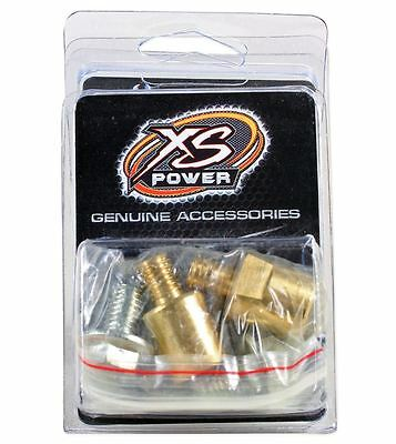 XS Power 575 M10 Brass Bolts for 551 I-Bar Bus-Bar Battery Post Terminal Adapter