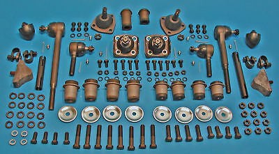 Chevy Front End Rebuild Kit, Power Steering 55 56 57