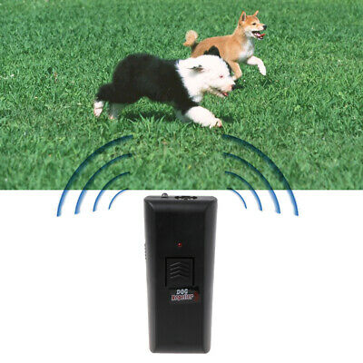 Ultrasonic Aggressive Anti-Bark Barking Stopper Deterrent Train Dog Pet Repeller