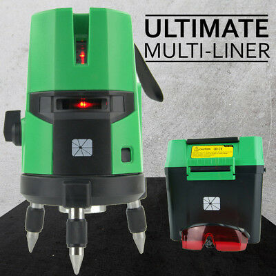 NEW TRADE SERIES Self Leveling Cross Line Laser Level Rotating Rotary Levelling