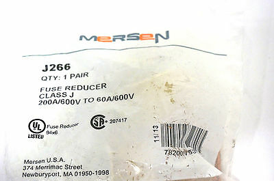 New Mersen J266 Fuse Reducer (1 Pair)
