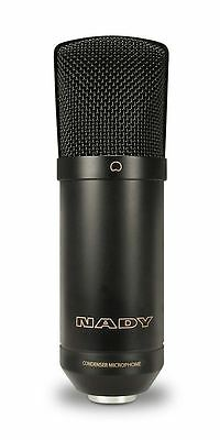 Nady SCM800 High SPL Capable Large Diaphragm Cardioid Condenser Microphone Mic