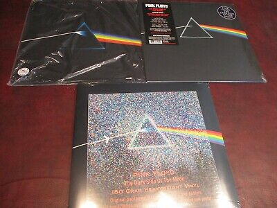 PINK FLOYD DARK SIDE OF MOON RARE 1993 PICTURE DISC + 30th ANNIVERSARY & 2 MORE