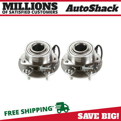 02-07 Front Wheel Hub & Bearing Assembly Pair Set For Equinox Torrent Vue w/ ABS