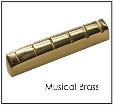 AxeMasters SLOTTED BRASS NUT made for BC Rich Electric Guitar Warlock...
