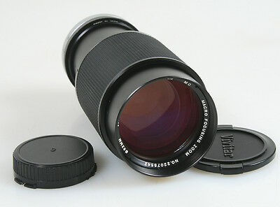 75-205Mm F 3.8 For Canon Fd Mount W/front And Rear Caps