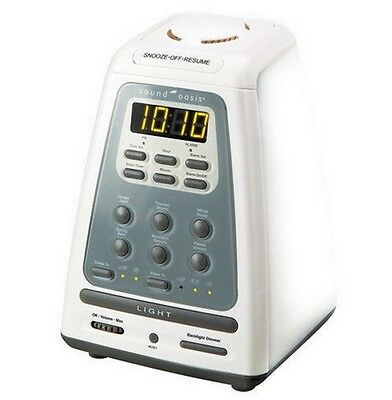 Sound Oasis BLS-100SO Natural Wake-Up & Sleep System w/ Wake Up Light