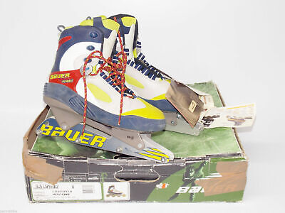 New 90's Bauer Men Inline Skates Lightspeed Size 9.5 Uk 8.5 Eu 43 Street Hockey