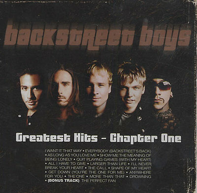 Backstreet Boys ( New Sealed Cd ) Greatest Hits Chapter One 1 / Very Best Of