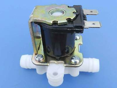"""3/8"""" 12VDC Hose Barb Electric Solenoid Valve Plastic Body for Drinking Fountains"""