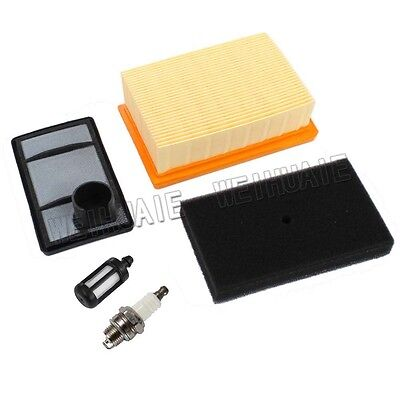Air Filter Kit w/Spark Plug For Stihl TS400 Cut Off Saw Replaces 4223-141-0300