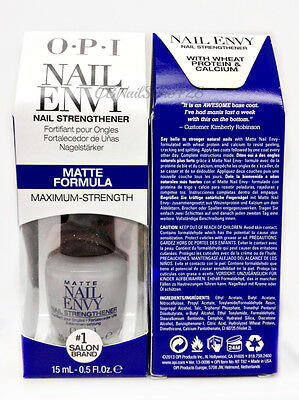 Nail Envy opi - MATTE Formula 0.5oz/15ml