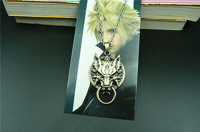 New FINAL FANTASY cosplay necklace pendant bronze Free shipping