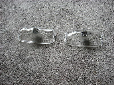 1966-67 gto parking lamp lens set of 2