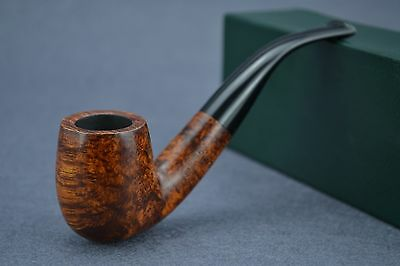 Germany denicotea Briar Classic The chimney bent Smoking Tobacco Pipe