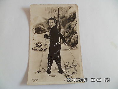 CARTE SHIRLEY TEMPLE Fox Film  G62