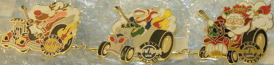 Hard Rock Cafe Live & Hotel ORLANDO 2011 CHRISTMAS 3 PINS Holiday Winter Parade!