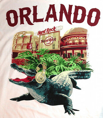 """NEW! Hard Rock Cafe ORLANDO 2013 City Tee T-SHIRT 2X XXL """"TEST"""" Pulled from SALE"""