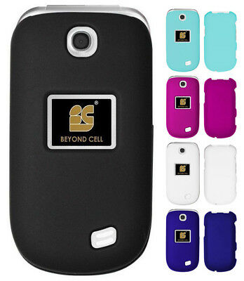 New Rubberized Hard Shell Case Protex Cover For Lg Revere-3 Vn170 / Envoy-3