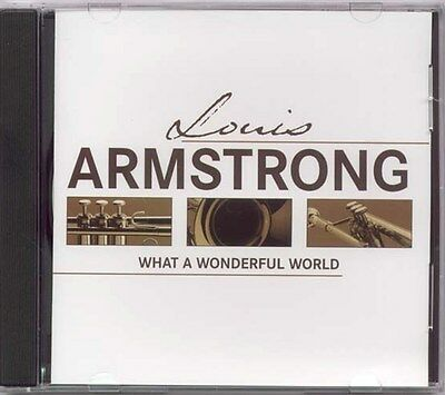LOUIS ARMSTRONG WHAT A WONDERFUL WORLD SEALED CD NEW