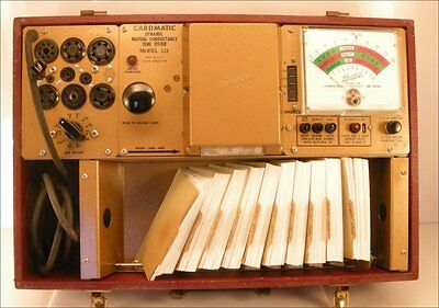 Hickok 121 Cardmatic Tube Tester, 1959, Clean, Mutual Conductance, Working