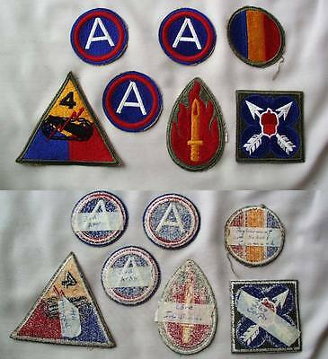 Lot of 7 U.S. Patches
