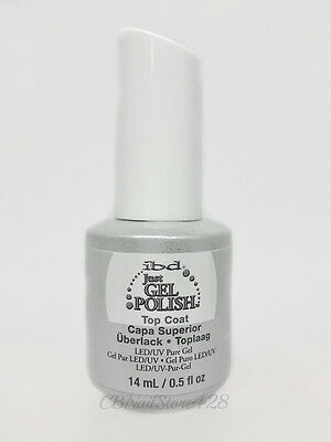 IBD Just Gel Polish- Soak-Off  Nail TOP COAT .5oz/15ml