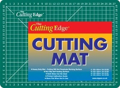 A4 Heavy Duty 3 Layers Both Side Cutting Mat Matting Non Slip Self Healing Value