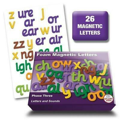 Letters and Sounds Phase 3 Foam Magnetic Letters Literacy Phonics Teaching