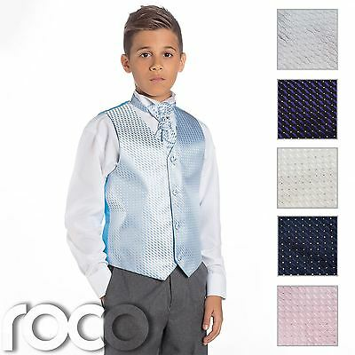 Boys Waistcoat Suit, Page Boy Suits, Boys Wedding Suits, Grey Trousers
