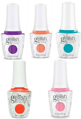 Harmony Gelish -  ALL ABOUT THE GLOW Collection 0.5oz/15ml- Choose Any Shade