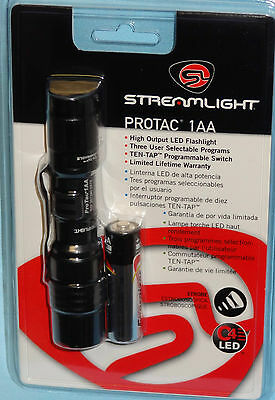 STREAMLIGHT TACTICAL C4 LED FLASHLIGHT 88032 with HOLSTER POUCH & BATTERY NEW