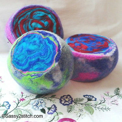 "The"" Ewesful"" Hand-Felted Pincushion"