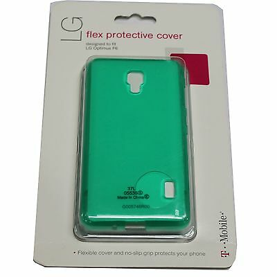 OEM T-MOBILE LG Optimus F6 FLEX PROTECTIVE Cover Case GREEN