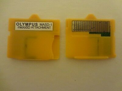 Micro SD Attachment MASD-1 Camera TF to XD Card insert adapter for OLYMPUS )))))