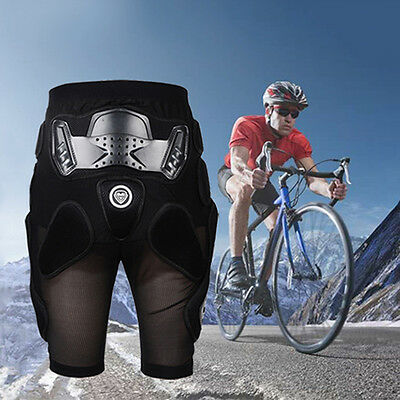 Motorcycle Motocross Ski Armor Pads Hips Legs Protective Pants Knight Gear S-XXL