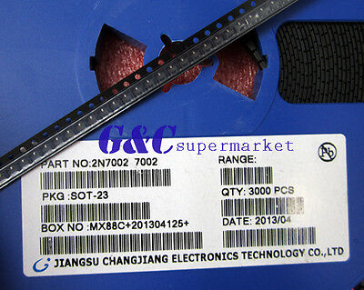 100PCS 2N7002 SOT-223 Small Signal N-Channel MosFET NEW GOOD QUALITY