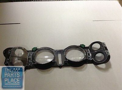 1970-78 Chevrolet Camaro Dash Lens Assembly With Factory Gauges