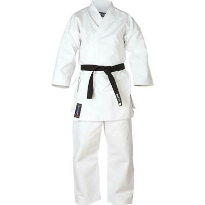 Blitz Adult White Diamond Karate Suit / Gi / Uniform