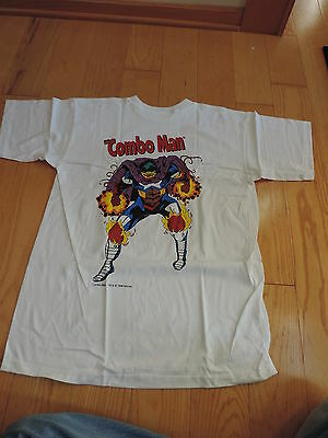 UNUSED NEW OLD STOCK COMBOS SNACKS MARVEL COMICS COMBO MAN T SHIRT free shipping