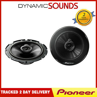 "PIONEER TS-G1733i 6.5"" 17cm 3-Way Coaxial Powerful Audio Car Speakers 250W"
