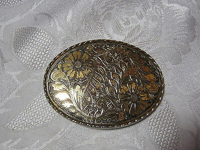 Flower Western Design Vintage Belt Buckle  T*