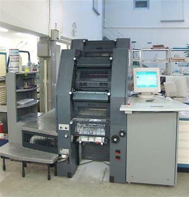 1997 Heidelberg QM-46DI Press. Direct Imaging by Presstek.