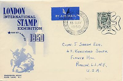 London Int. Stamp Exhibition 1950   28/12/14