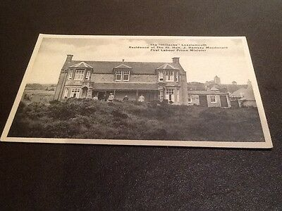 old Postcard The Hillocks  Lossiemouth
