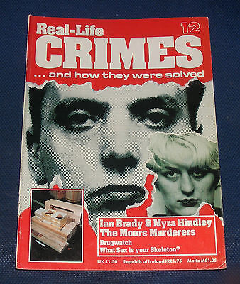 Real Life Crimes Number 12 - Ian Brady & Myra Hindley - The Moors Murderers